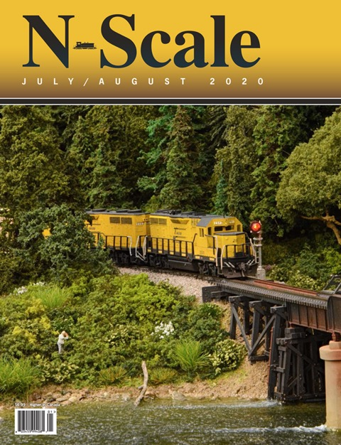 nScale Magazine cover July/August 2020